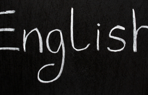english-language-blackboard